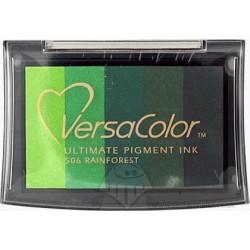 """Палитра от пигментни мастила - """"Дъждовна гора"""" - Multicolour Pigment Inkpad - Rainforest"""