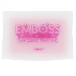 Emboss Ink Pad Tinted - Тампон за топъл ембосинг - цветен