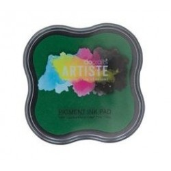 Зелено мастило - Docrafts Pigment Ink Pad - Green (DOA 550101)