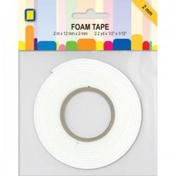 Дунапренено двойно лепящо тиксо - JEJE Produkt Foam Tape 2 m x 12 mm x 2 mm (3.3000)