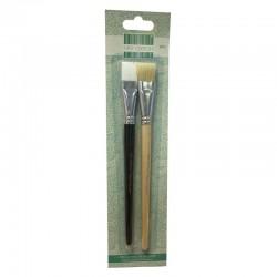 Комплект от 2 бр. четки за декупаж - First Edition Deco Mache Brush Set (FEBRU001)