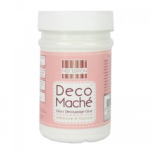 Лепило за декупаж - гланц - First Edition Deco Mache Gloss 250ml (FEDEC901)