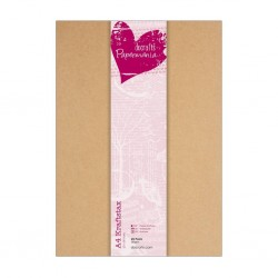Крафт картон А4 - 280гр. - 25 бр. - Papermania A4 Kraftstax (25pk)