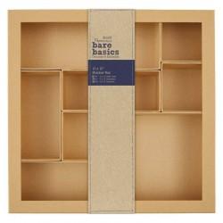 "3D шадоу кутия - 12"" х 12"" - Papermania Bare Basics Shadow Box 12x12 Inch"