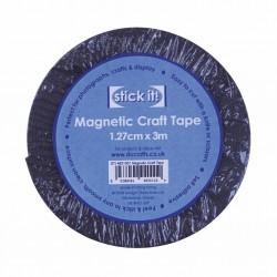 Самозалепваща магнитна лента - Stick It! 3m Magnetic Craft Tape (1.27cm) (STI 4621001)