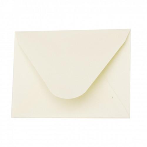 Комплект от 10бр. пликове за картички - 78x110 мм - перлен шампанско