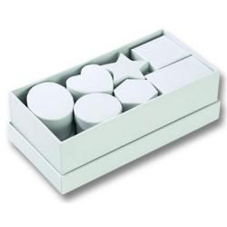 К-т от 15бр. бели картонени кутии - Асорти - FOLIA