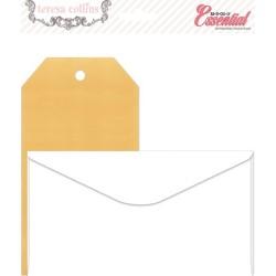 Комплект от 10бр. пликове, 10бр тагове, 3 плика, - Envelope & Tag Pack (10 envelopes, 10 mail tags, 3 bags, 3 library pockets)
