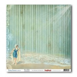 Двустранен дизайнерски картон - Романтична ваканция - Double-Sided Paper (12*12 – 190gsm) Holiday Romance - Full of Mirth