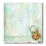 Двустранен дизайнерски картон - Романтична ваканция - Double-Sided Paper (12*12 – 190gsm) Holiday Romance – Reflections
