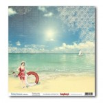 Двустранен дизайнерски картон - Романтична ваканция - Double-Sided Paper (12*12 – 190gsm) Holiday Romance - Touching Story