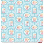 "Дизайнерско блокче - 12""х 12"" - сладки моменти - Paper Collection Set 12""*12"" Sweet Moments 190 gsm (9 double-sided, 18 designs)"