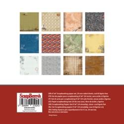 "Дизайнерско блокче - Paper Collection Set 6""*6"" - приключенски - Adventure Awaits 190 gsm (24 sheets, 12 designs, 2 units of each sheet)"