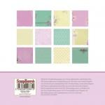 """Дизайнерско блокче 6"""" x 6"""" - заветни скъпоценности - Paper Collection Set 6""""*6"""" Cherished Jewels 190 gsm (24 sheets, 12 designs, 2 units of each sheet)"""
