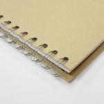 Тефтер с корици от папие маше за декориране и 40бр. празни листа - 15 х 21.5см - Papier-Mache Note Book (15x21.5cm)