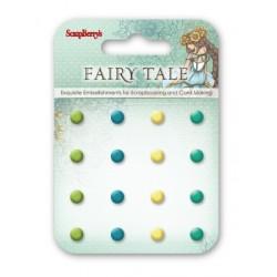 Комплект от 16бр. брадс - Enamel brads Fairy Tale 1, 16 pcs
