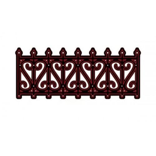 Метална щанца ограда - Crafts Too Cutting Die METAL FENCE - 55мм х 139мм