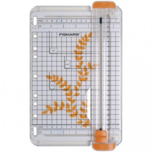 Крафт тример - Fiskars Portable SureCut Paper Trimmer 22cm - A5
