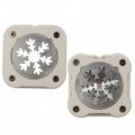 Подвижен перфоратор/ пънч - снежинка - magnetische pons sneeuwvlok 38mm