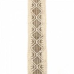 Ширит зебло / юта - 4 см х 5 метра