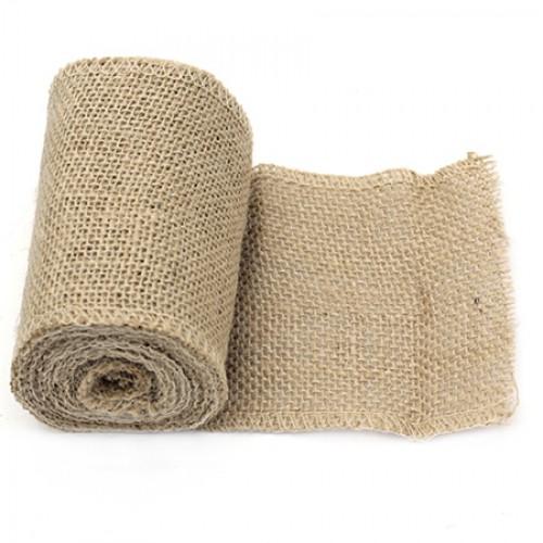Лента зебло / юта / канава -  10x275 см