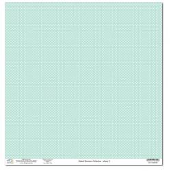 Дизайнерски картон на точки 12x12inch 190gr - Sweet Summer Collection - No.5