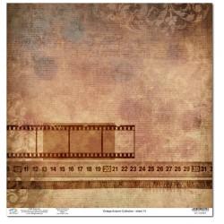 Дизайнерски картон 12x12inch 190gr - Vintage Autumn Collection - No.14