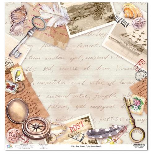 Дизайнерски картон 12x12inch 190gr - Fairy Tale Stories Collection - No.9