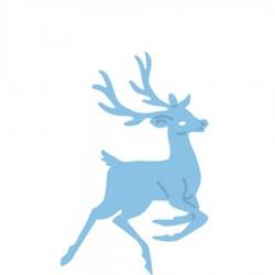 Универсален шаблон за изрязване и релеф елена Рудолф - Creatables - Rudolf