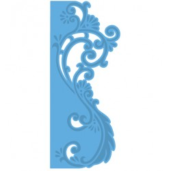 Универсален шаблон за изрязване и релеф - Creatables - Anjas border Elegant
