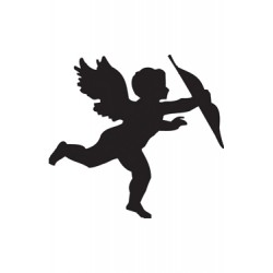 Шаблон за декупаж ангел - 15x20cm - D894
