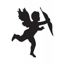 Шаблон за декупаж ангел - 10x15cm - O07