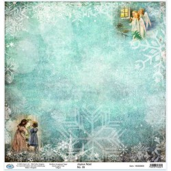 Дизайнерски картон 30x30cm 190gr - Joyeux Noel 06