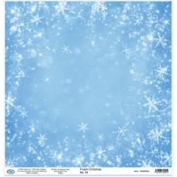 Дизайнерски картон 30x30cm 190gr - Frozen Christmas 04