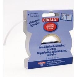 Двойнозалепваща лента за снимки  - Collall - 10mtr x 12mm