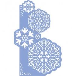 Шаблон за релеф снежинки - Marianne Design - Mal Mery,Snowflakes