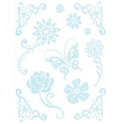 Стикери Rub On - Joy Crafts - Rub On Magic Vlinder
