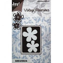 Универсален шаблон за рязане - JoyCrafts - Vintage Flourishes Bloem (2st)