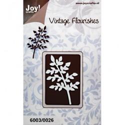Универсален шаблон за рязане - JoyCrafts - Vintage Flourishes Tak bladeren(dun)