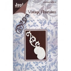 Универсален шаблон за рязане - JoyCrafts - Vintage Flourishes swirl