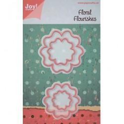 Универсална щанца за изрязване - Joy Crafts - Floral Flourishes bloem 3
