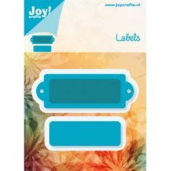 Универсална щанца за изрязване - Joy Crafts - Snijstencil, Labels and Tags