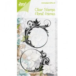 Дизайнерски силиконови печати - Joy Crafts - Stempel Floral frames