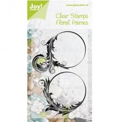 Дизайнерски силиконови печати - Joy Crafts - Stempel Floral frames
