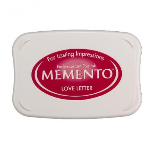 Бързосъхнещо мастило - Memento Ink Pad - Love Letter