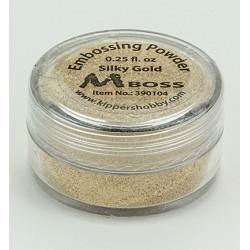 Златна ембосинг пудра - Mboss - Embossing Powder Silky Gold