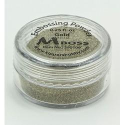 Златна ембосинг пудра - Mboss - Embossing Powder Gold