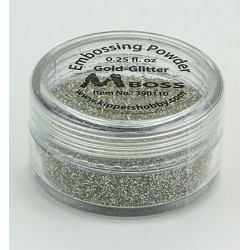 Ембосинг пудра - Mboss - Embossing Powder Gold-Glitter(Special Silver)