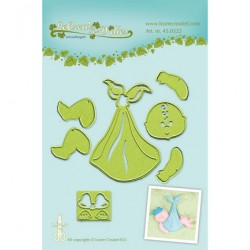 Универсални шаблони за рязане и релеф бебе - Leane Creatief - Lea?bilitie Baby snij en embossing mal