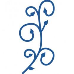 Универсална щанца за изрязване завъртулка - Marianne design - Creatables Swirl leafvoor